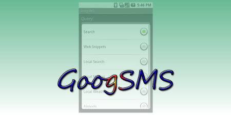 GoogSMS 0.1 for Android